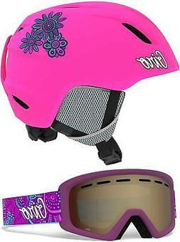$130 Giro Launch Combo Kids Ski Snowboard Helmet & Goggles P