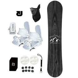 Symbolic Knotty Snowboard+Bindings Package Youth Kids Stomp+