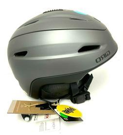 $200 GIro Zone Mips Helmet M 55.5-59 Ski Snowboard Gray NWT