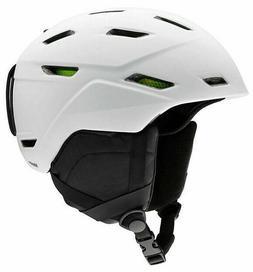 2020 Smith Optics Mission Snowboard Ski Helmet - Matte White