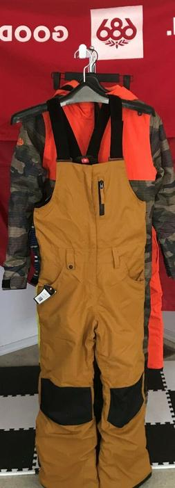 2020 NWT 686 Sierra Ins Bib Pant Pants Youth Kids M Medium S