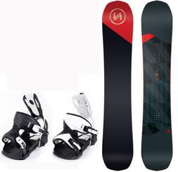 2021 Nidecker MERC 156 cm Men's Snowboard+Flow Alpha Binding