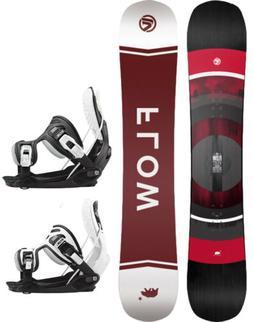 2021 FLOW Vert 162cm WIDE Snowboard+Alpha Stormtrooper LTD B
