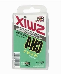 60g Swix Wax Cera Nova CH4 Green | Ski Snowboard Cold Hard