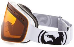 Dragon Alliance NFX Goggles Ski snowboard Powder Amber/Wh+ Y
