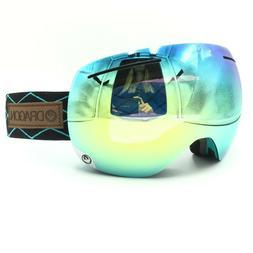 Dragon Alliance X1 Turquoise Black Light Blue Ion Lens Ski S