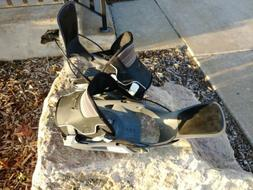 Flow Amp 5 FS Snowboard Bindings Size XL Extra Large Black G