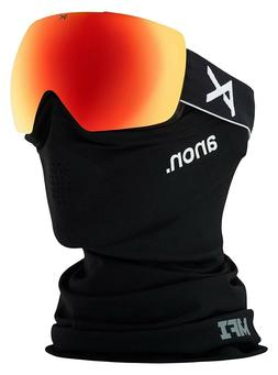 Anon Ski Snowboard MIG MFI Facemask  Sonar Zeiss Red Goggles