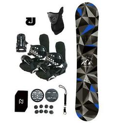 Symbolic Arctic Snowboard+Bindings Package Kids Youth Stomp+