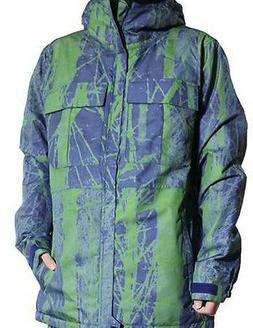 686 Authentic Moniker Snowboard Jacket  Indigo Tree