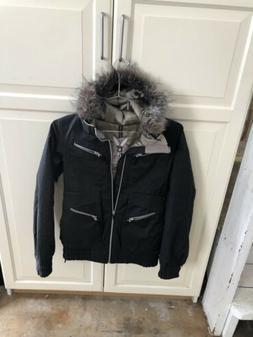 Burton Size S New  Womens  Snowboard  Jacket Fur Hood
