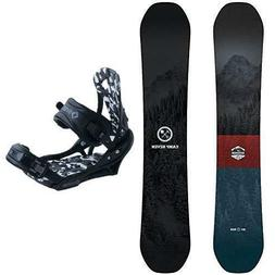 Camp Seven 2020 Redwood Snowboard and System APX Binding Men
