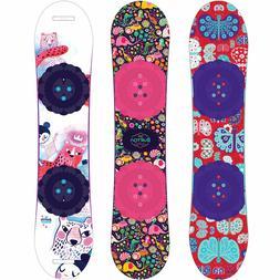 Burton Chicklet Children Snowboard Girl Flat Top Different L