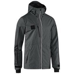 Adidas Deer Run 2L Ski Snowboard Jacket / Shell - Gray - Med