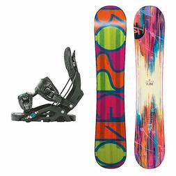 Rossignol Diva MagTek Juno Womens Snowboard and Binding Pack