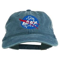 e4Hats.com NASA Insignia Embroidered Pigment Dyed Cap - Navy