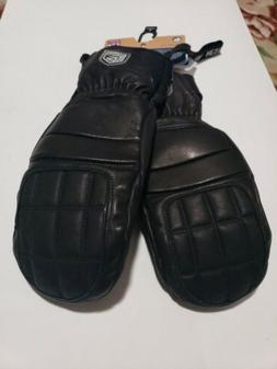 🔥HESTRA FALL LINE Leather Snowboard SKI MITTS MITTENS WOM