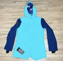 Armada Helena Insulated Snowboard Jacket in Peacock Blue Wom