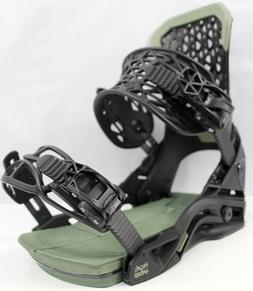 Salomon Highlander Snowboard Bindings Medium Black/Green