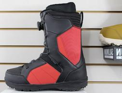 Ride Jackson Boa Snowboard Boots Men's Size 11 Brick Red New