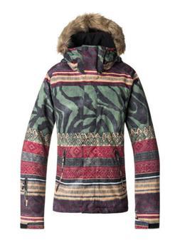 Roxy Jet Ski SE Wild Ethnic Womens Snowboard Ski Jacket NEW