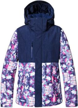 Roxy Jetty Block Medieval Blue Cloudy Day Womens Snowboard S