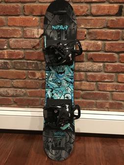 Kids 100cm snowboard package, Burton  mint condition paid