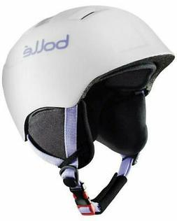 "BOLLE Kids Snowboard or Ski helmet, White, XS, 19.3"" to 21.3"