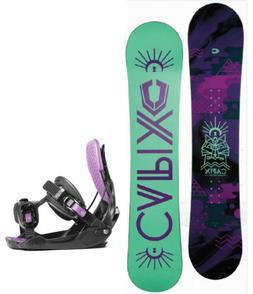 Capix Kindred Spirit 147 Womens Snowboard+FLOW Bindings NEW