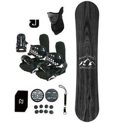 Symbolic Knotty Snowboard+Bindings Package Men Women Stomp+L