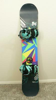 143 cm K2 Va Va Voom Rocker Snowboard Women's w/ RIDE VXN Me