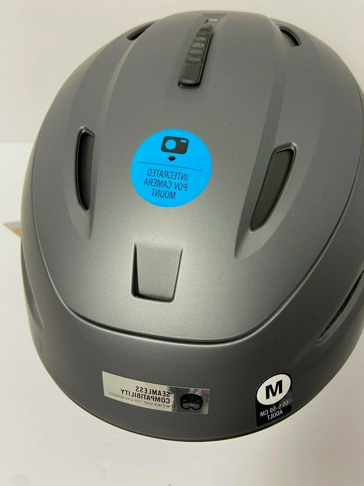 $200 GIro Zone Helmet M Snowboard Construction