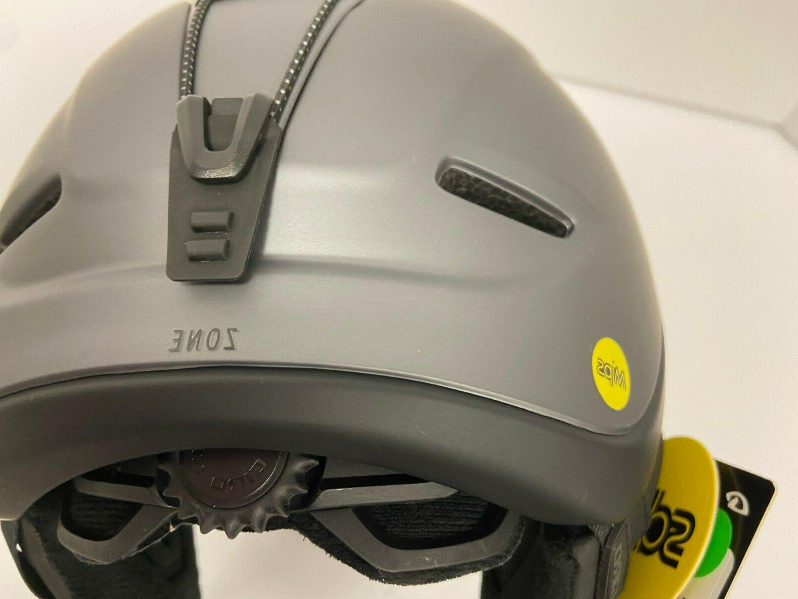 $200 GIro Helmet Snowboard Gray Hybrid Construction