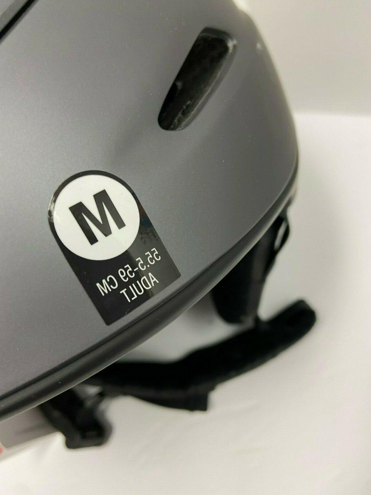 $200 Helmet M 55.5-59 Snowboard NWT Construction