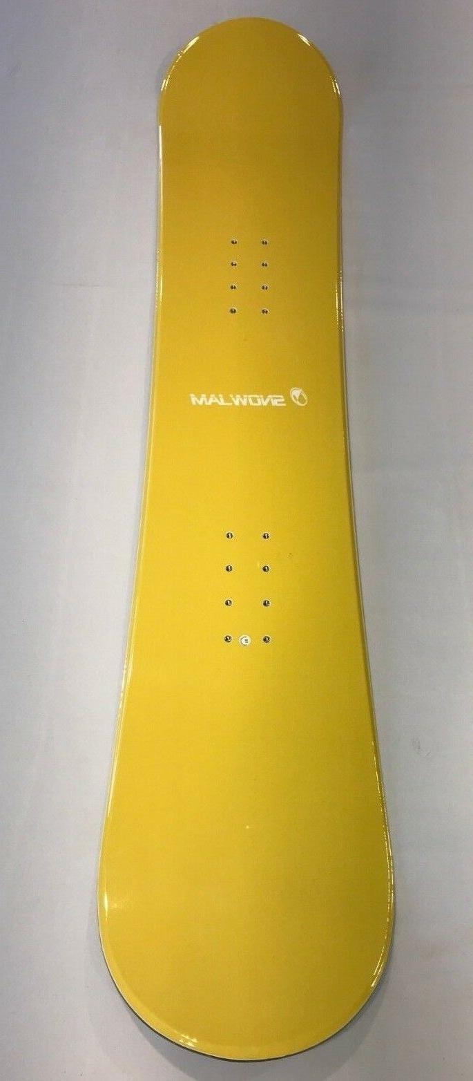 540 yellow snowboard 163cm purple bottom w