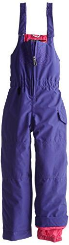 686 Girls Authentic Recess Bib Pants, Iris, Large