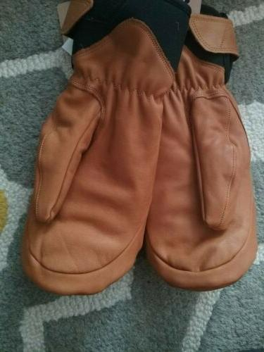 HESTRA Fall Leather Large NWT $155