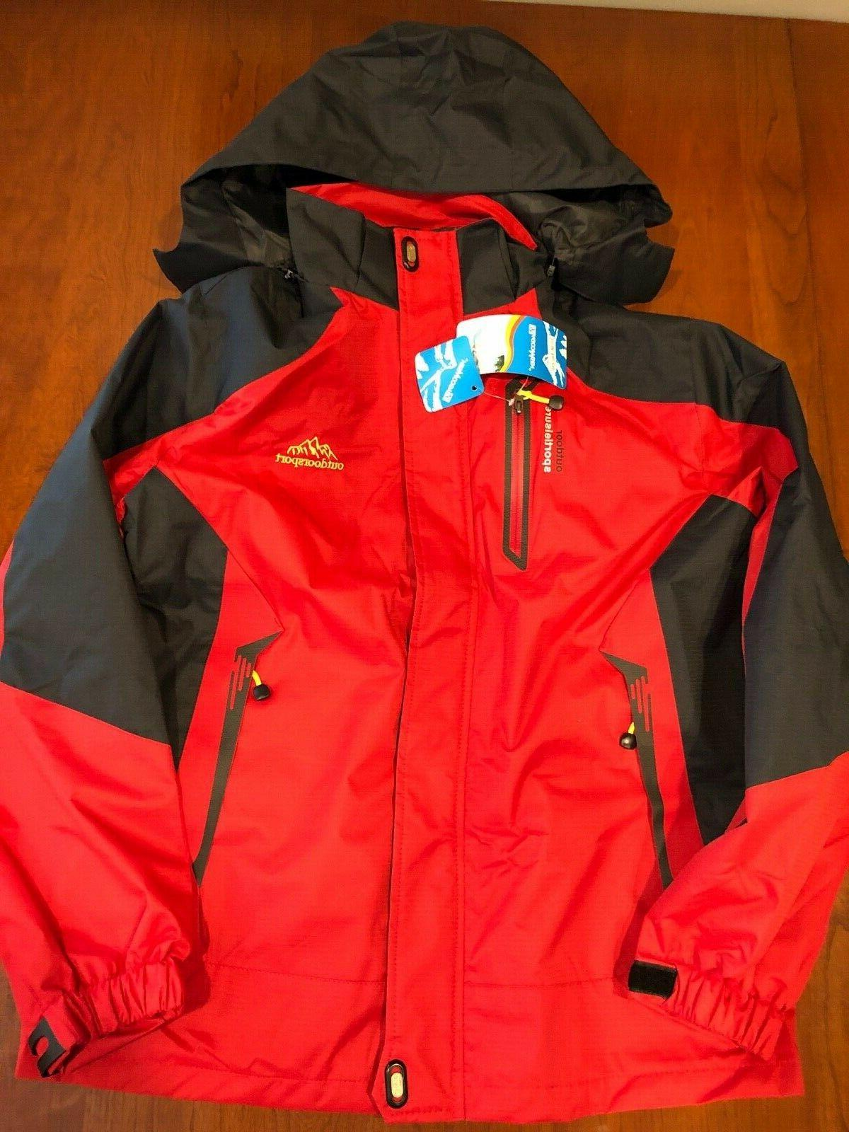 men s outdoorsport lightweight hiking ski jacket