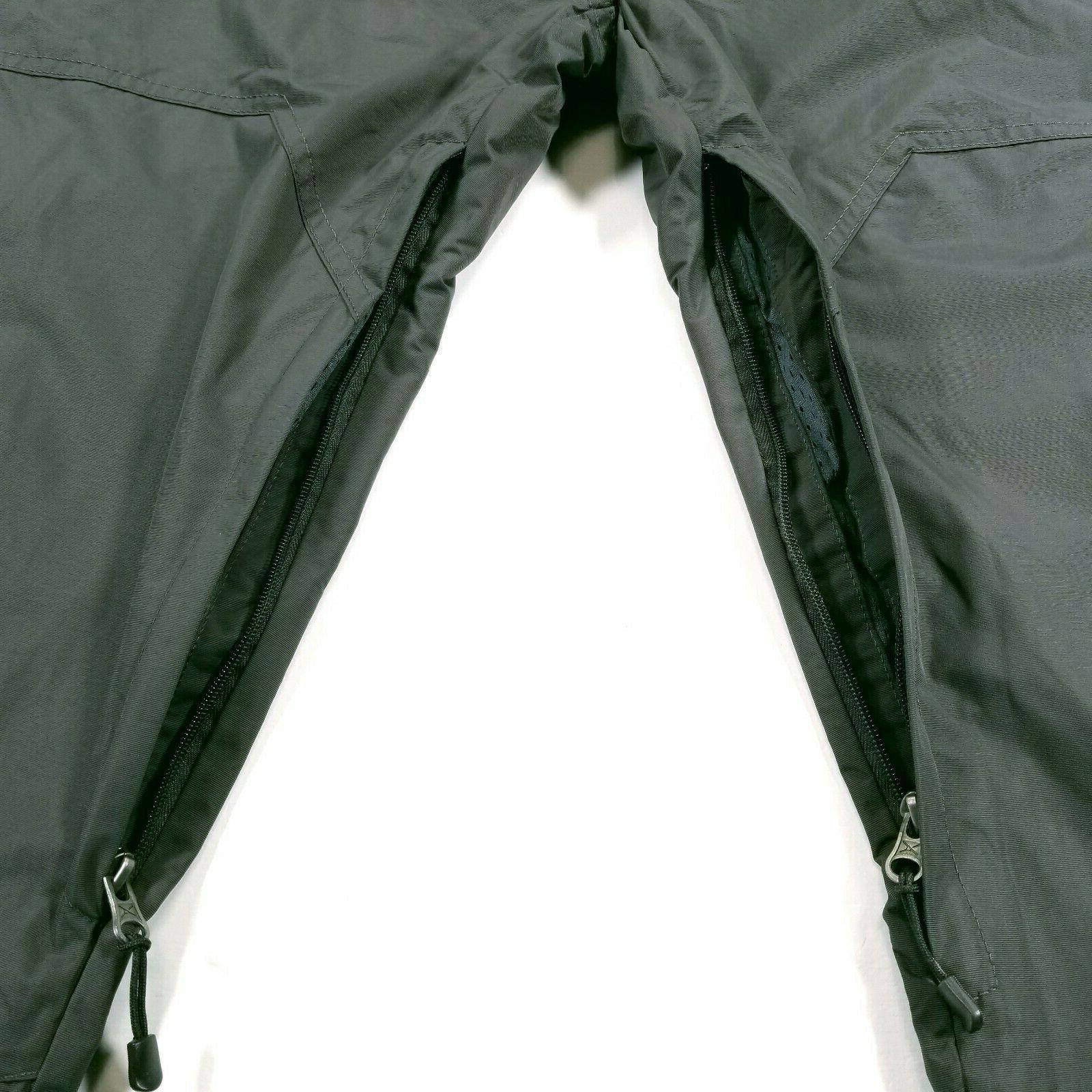 Arctix Mens XXL Snowboard Dark Gray Vented Boot Button Zip