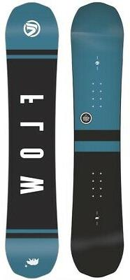 Flow Micron Verve Youth's Reverse Camber Snowboard, 140cm Wi