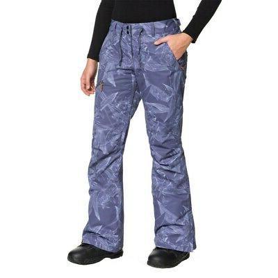 nadia printed womens snowboard pants