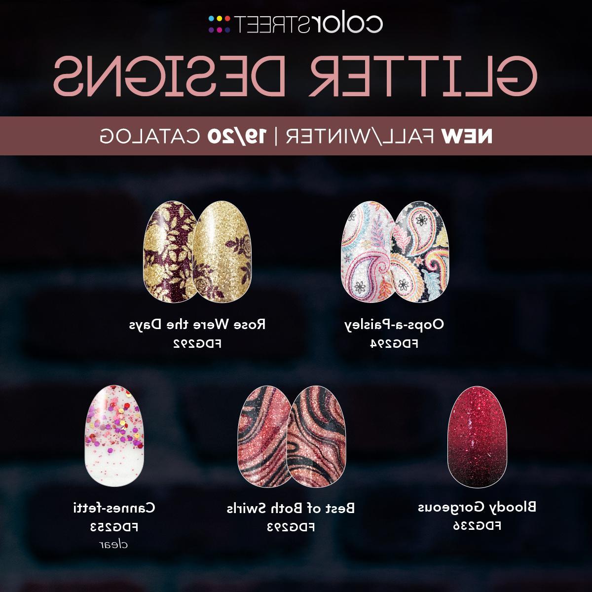Color Nail Polish Pedicure FALL HALLOWEEN