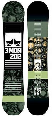 New 2019 Rome Reverb Rocker Wide Snowboard 158cm