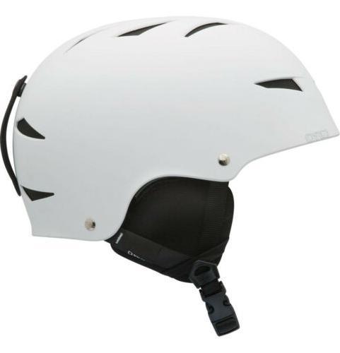 new encore 2 white snowboard ski helmet