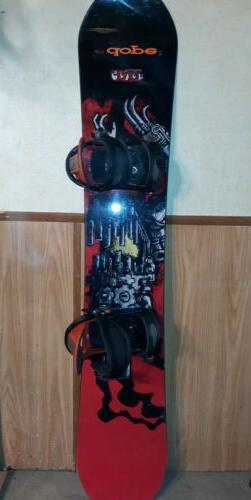 BURTON SEVEN Snowboard and Freestyle Bindings 62-in board
