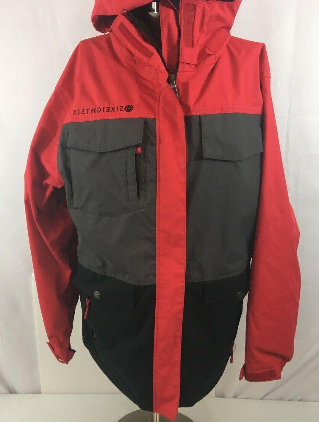 686 Smarty Winter Hooded Men's LG Removeable Liner