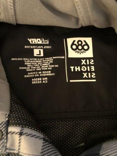 686 W/Hoodie Large Jacket