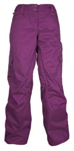 M3 Sophia Women's Snowboard Ski Pants New NWT Purple LARGE