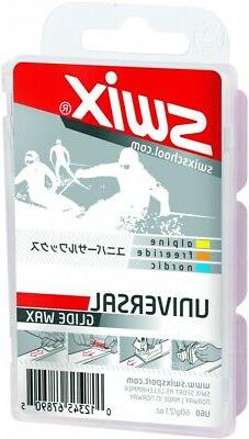 Swix Universal Ski Snowboard Wax 60g U60 Tuning Waxing