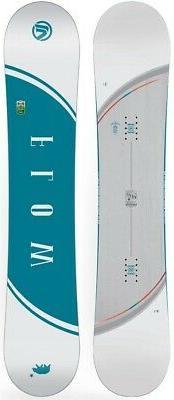 Flow Velvet Women's Hybrid Camber Snowboard 139cm 2017